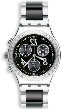 Swatch Men's YCS485G Quartz Chronograph Stainless Steel