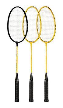 Sportime Yeller Steel-Strung Badminton Racquet