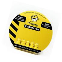 Plugfones Yellow Silicone Replacement Plugs 5 Pairs