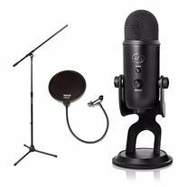 Blue Microphones Yeti 16-bit USB Microphone -Blackout