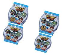 Yo-kai Season 1 Medals Blind Bag 4 Pack Bundle