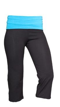 Boxercraft Yoga Capri Pant w/ Fold Over Waistband, Youth