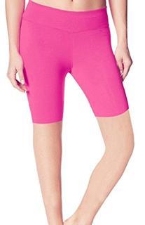 ABUSA Women's YOGA Leggings Exercise Workout Shorts Size XL