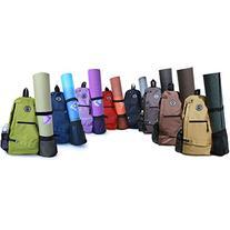 Aurorae Yoga Mat Bag. Multi Purpose Cross-body Sling Back