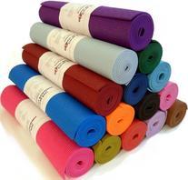 """Yoga Mat 1/4""""x72"""" Extra Thick 14 Colors Non-Toxic PER"""
