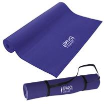Pure Fitness Non-Slip Exercise Yoga Mat with Carrying Strap