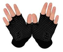 Mato & Hash Yoga Pilates Fingerless Exercise Grip Gloves -