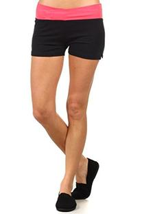 MOPAS Yoga Shorts with Fold Over Solid Waistband