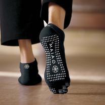 Gaiam Grippy Yoga Socks for Extra Grip in Standard or Hot