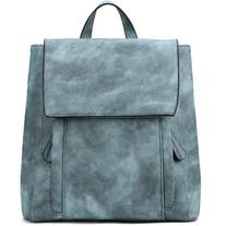 Yoins Green Backpack with Two Front Pockets