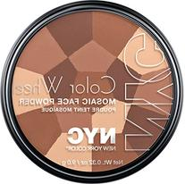 New York Color Wheel Mosaic Face Powder, All Over Bronze