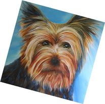 Yorkie Time - Yorkshire Terrier Dog Painting