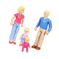 You & Me, Happy Family, Family Action Figure Set  Blonde