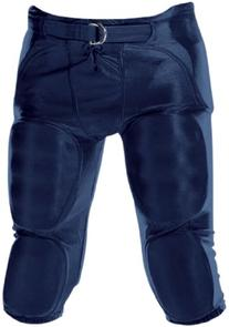 Youth Dazzle Football Pants w/ Pads Navy/LRG