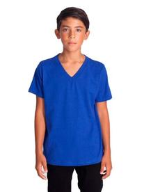 American Apparel Youth Fine Jersey V-Neck T-Shirt