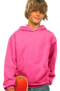 LAT Apparel Youth Pullover Fleece Hoodie - X-Small -