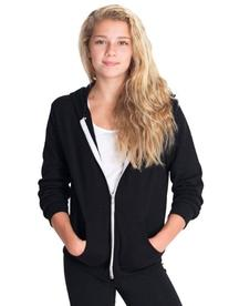 American Apparel Youth Flex Fleece Zip Hoodie  -BLACK -12