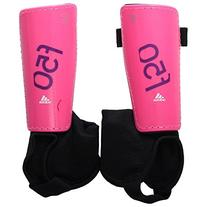 adidas Performance F50 Youth Shin Guard, Solar Pink/Lucky