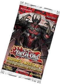 YuGiOh Hidden Arsenal 5 Steelswarm Invasion Booster Pack 5