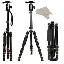ZOMEi Z669 SLR Camera Tripod with Ball Head and Carrying