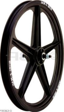 ACS Z Mag 5 Spoke Front Black Mag Wheel
