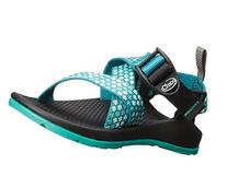 Chaco Z1 Ecotread Sport Sandal , Teal Beams, 10 M US Toddler