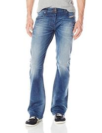 Diesel Men's Zathan Regular Bootcut Leg Jean 0831D, Denim,