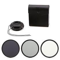 Zeadio ZDV-NDA 62mm Neutral Density Photography Filter Set