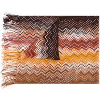 Missoni - zigzag fringed scarf - women - Viscose - One Size
