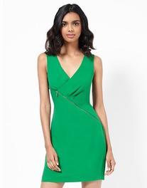 Morgan Zip Detail Dress