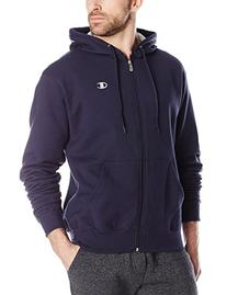 Champion Men's Full-zip Eco Fleece Jacket Hoodie, Army, XX-