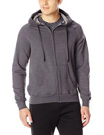 Hanes Men's Full Zip Nano Premium Lightweight Fleece Hoodie
