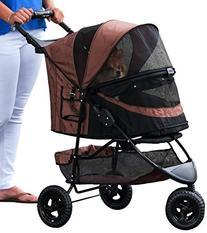 Pet Gear No-Zip Special Edition 3 Wheel Pet Stroller for