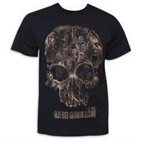 The Walking Dead Zombie Skull Shirt