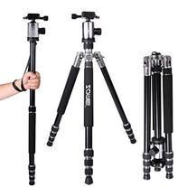 Zomei Z818 65-inch Lightweight Camera Tripod, Aluminum