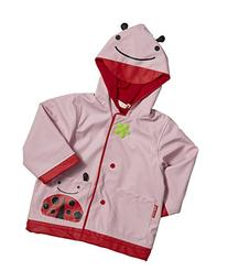 Skip Hop Zoo Little Kid and Toddler Hood Rain Jacket, Small