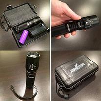 2000 Lumen Zoomable Cree XML T6 LED 18650 Flashlight Focus