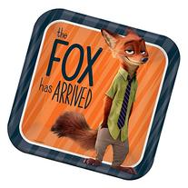 Zootopia Lunch/Dinner Plates 8 count Party Supplies