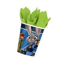 Zootopia 9 oz Paper Cups, 8pk