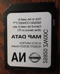 ZW00C 10-11-12 NISSAN CONNECT SD CARD , NAVIGATION GPS MAP