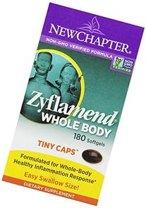 New Chapter Mini Softgels for Herbal Pain Relief - Zyflamend